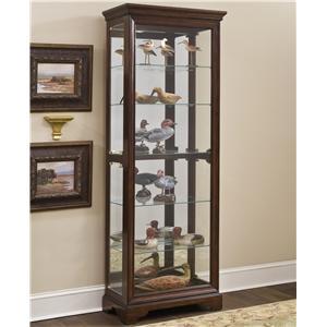 Pulaski Furniture Curios Gallery Curio Cabinet