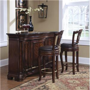 Pulaski Furniture Accents Bar Set with Stools