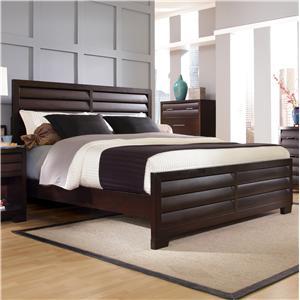 Pulaski Furniture Tangerine  Queen Panel Bed
