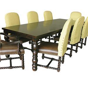 Rare Collections La Bella Vita Rectangle Dining Table