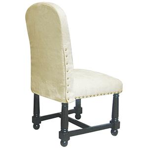 Rare Collections La Bella Vita Fabric Upholstered Side Chair