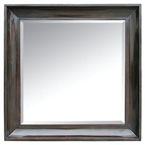 Rare Collections La Bella Vita Accent Square Mirror