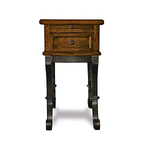 Riverside Furniture Stone Forge Chairside Table