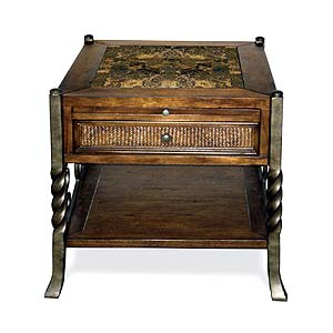 Riverside Furniture Medley Side Table with Drawer
