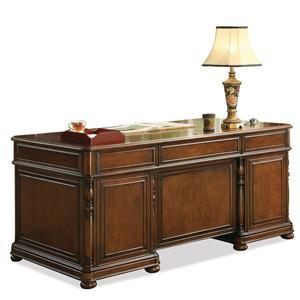 Riverside Furniture Bristol Court Executive Desk