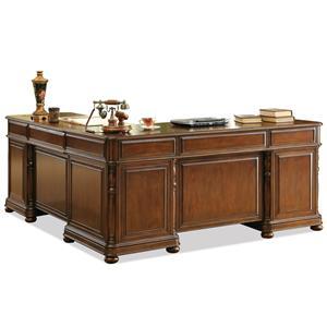 Riverside Furniture Bristol Court L-Desk And Return