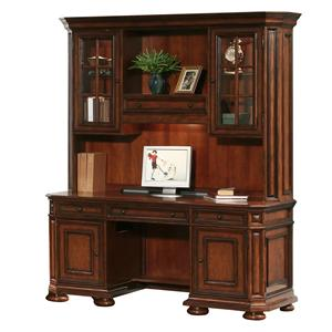 Riverside Furniture Cantata Computer Credenza & Hutch