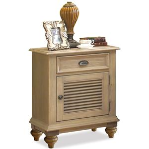 Riverside Furniture Coventry Shutter Door Nightstand