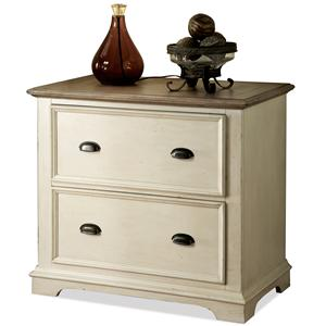 Riverside Furniture Coventry Two Tone Lateral File Cabinet