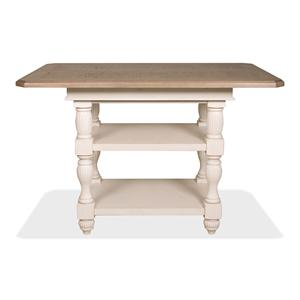 Riverside Furniture Coventry Two Tone Counter Height Dining Table