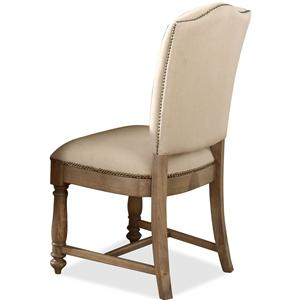 Riverside Furniture Coventry Two Tone Upholstered Side Chair