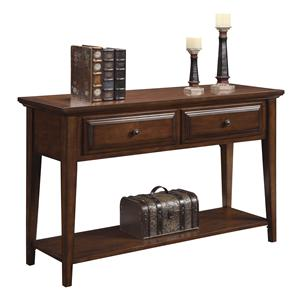 Riverside Furniture Hilborne 2 Drawer Sofa Table