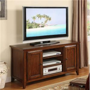 "Riverside Furniture Hilborne 52"" TV Console"