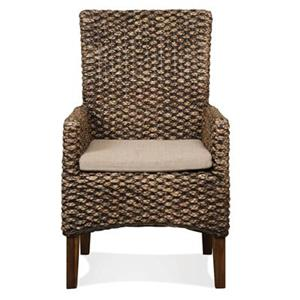 Riverside Furniture Mix-N-Match Chairs WOVEN ARM CHAIR 2IN