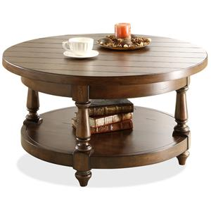 Riverside Furniture Newburgh Round Cocktail Table