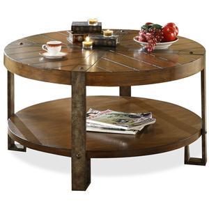 Riverside Furniture Sierra Sierra Round Coffee Table