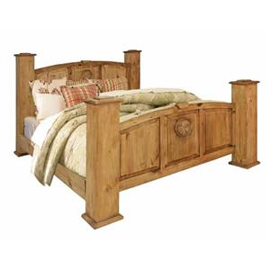 Rustic Specialists Texas Star Texas Star Queen Bed