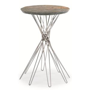 "Kaleidescope Home Caracole Classic Contemporary ""Pick Up Sticks"" Side Table"