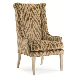 "Kaleidescope Home Caracole Classic Contemporary ""Purrr-Fect"" Arm Chair"