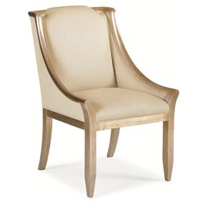 "Kaleidescope Home Caracole Classic ""Sterling Reputation"" Chair"