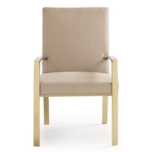 """Kaleidescope Home Caracole Classic """"On Thin Ice"""" Arm Chair"""