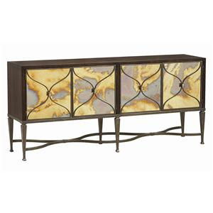 "Kaleidescope Home Caracole - Classic Contemporary ""Smoke and Mirrors"" Sideboard"