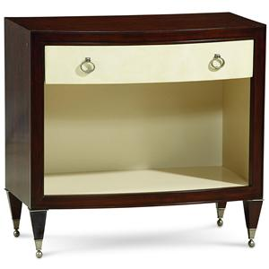 "Kaleidescope Home Caracole - Classic Contemporary ""Glam"" & ""Glam II"" Nightstand"