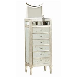 "Kaleidescope Home Caracole - Classic Contemporary ""Twinkle Twinkle"" Drawer Chest"