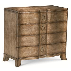 "Kaleidescope Home Caracole - Classic Contemporary ""Make an Entrance"" Accent Chest"