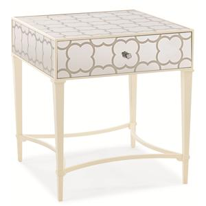 "Kaleidescope Home Caracole Classic Contemporary ""Cookie Box"" Side Table"