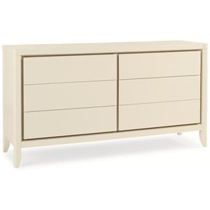 "Kaleidescope Home Caracole Classic Contemporary ""Snow White"" Dresser"