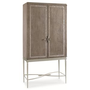 "Kaleidescope Home Caracole Classic Contemporary ""Straight Up with a Twist"" Cabinet"