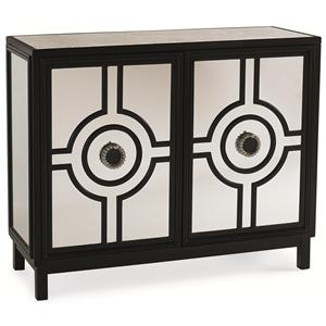 "Kaleidescope Home Caracole Classic Contemporary ""Seeing Double"" Cabinet"