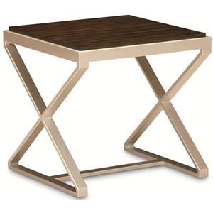 "Kaleidescope Home Caracole Classic Contemporary ""Cross Your Legs"" Cocktail Table"