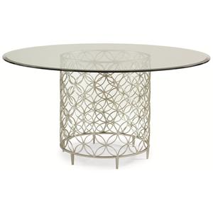 "Kaleidescope Home Caracole Classic Contemporary ""Bubble-Up"" Dining Table"