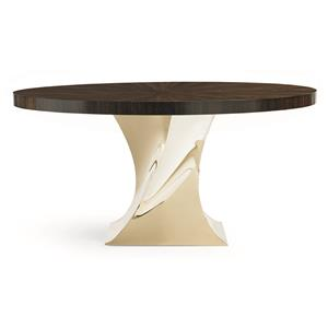 "Kaleidescope Home Caracole Classic ""Do A 360"" Dining Table"