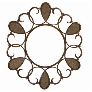 "Kaleidescope Home Caracole - Classic Contemporary ""Love Knots"" Accent Mirror"