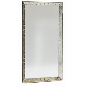 "Kaleidescope Home Caracole - Classic Contemporary ""Mirror Mirror on the Wall"" Vertical Mirror"