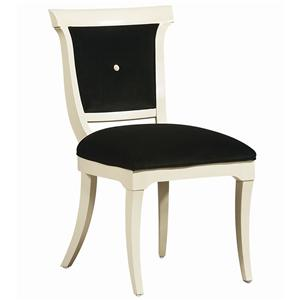 "Kaleidescope Home Caracole - Classic Contemporary ""The Party Chair"" Side Chair"