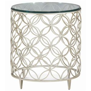 "Kaleidescope Home Caracole - Classic Contemporary ""Bubbles"" Side Table"