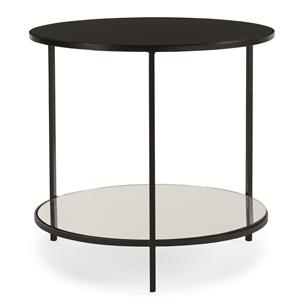 "Kaleidescope Home Caracole Classic ""Reflect-ology"" Side Table"
