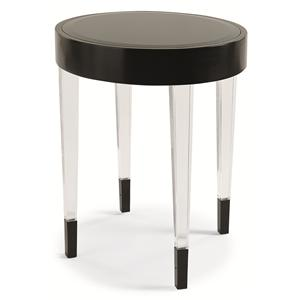"Kaleidescope Home Caracole Classic Contemporary ""After 6"" Side Table"