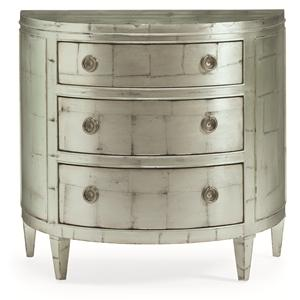 "Kaleidescope Home Caracole - New Traditional ""Crystal Blue Persuasion"" Petite Chest"