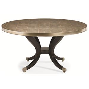 "Kaleidescope Home Caracole - New Traditional  ""Center of Attention"" Dining Table"