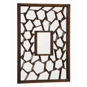 "Kaleidescope Home Caracole - New Traditional ""Cracked Up"" Mirror"