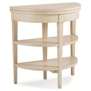 "Kaleidescope Home Caracole - New Traditional ""Wallflower"" Side Table"