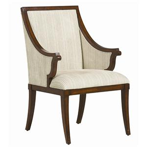 "Kaleidescope Home Caracole - New Traditional ""Armed for Comfort"" Arm Chair"