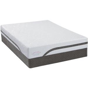 Sealy Optimum Latex Gel Dreams Cal King Latex Mattress Set