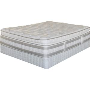 Serta Trump Home iSeries Bradbury Queen Super Pillow Top Mattress Set