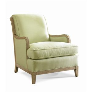 Sherrill Transitional Carved Chair